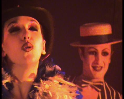 Beltran's Kabaret- José Beltran, David Aberasturi y Lola Lloberas fundadores de la compañia.