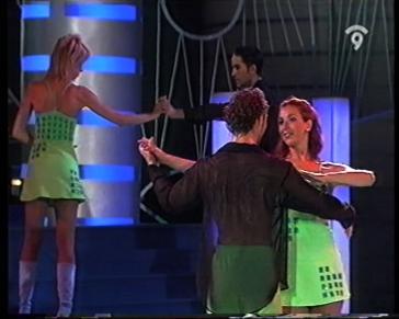 Imágenes del Programa de TV Cantar.es en Canal 9 con María Abradelo