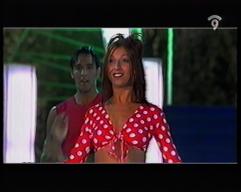Lola LLoberas en programa de la televisión Valenciana Canal 9