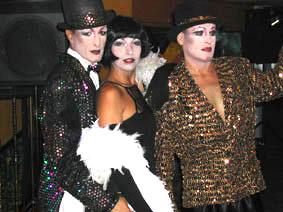 Beltran's Kabaret: José Beltran, David Aberasturi y Lola Lloberas